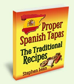 tapas recipe book
